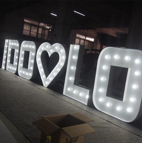 Marquee Light Sign